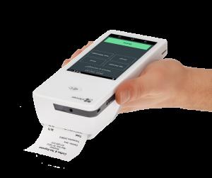 Clover Flex hand held credit card processing machine