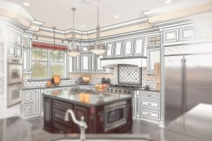 kitchen remodel computer animation
