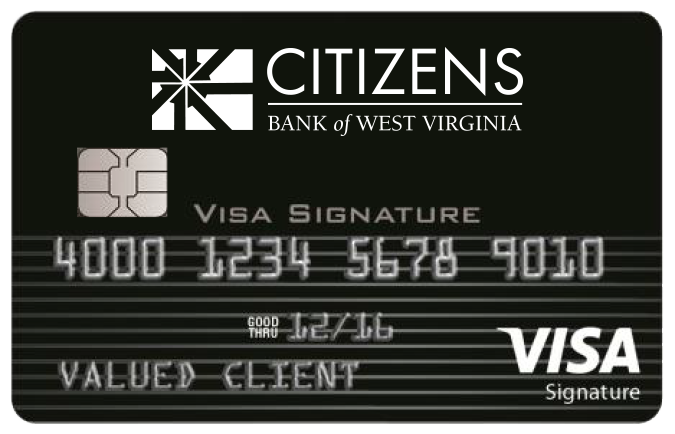 image of the black signature travel card